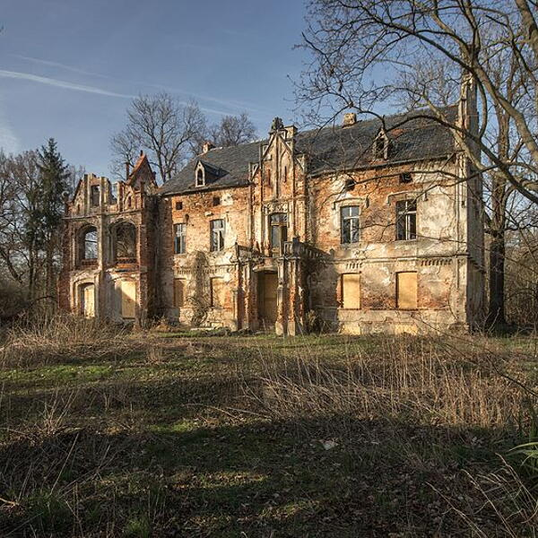 Ruiny pałacu rodziny Hoffman