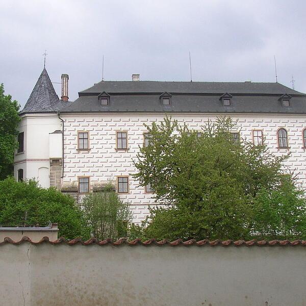 Zamek i park w Slatiňanach