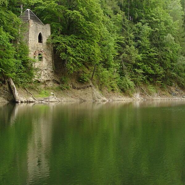 Jezioro w Kamieniołomach
