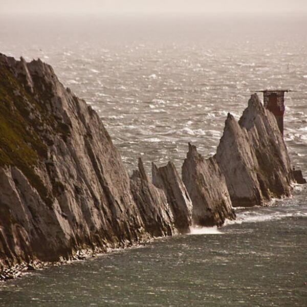 Alum Bay and The Needles