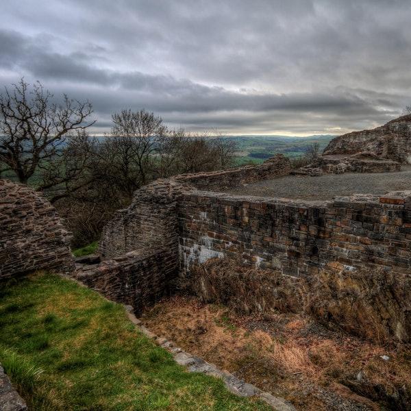 Dolforwyn Castle
